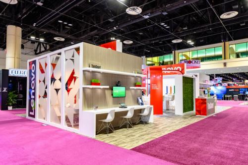 Lenovo Booth for Infocomm